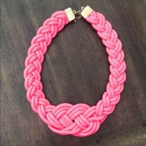 Hot pink nautical necklace